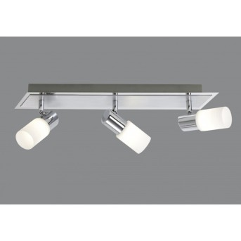 Plafonnier Trio 8214 LED Chrome, 3 lumières
