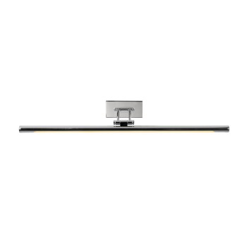 Lampe pour miroir Lucide GAVIN LED Chrome, 1 lumière