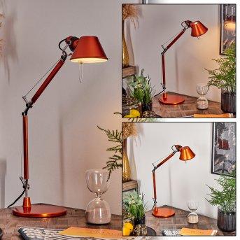 Lampe à poser Artemide TOLOMEO MICRO Orange, 1 lumière