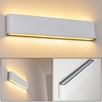 Applique murale d'extérieur Tinglev LED Blanc, 2 lumières