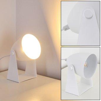 Lampe à poser Takeda Blanc, 1 lumière