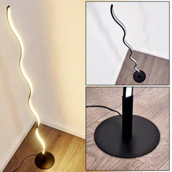 Lampadaire Dillon LED Noir, 1 lumière