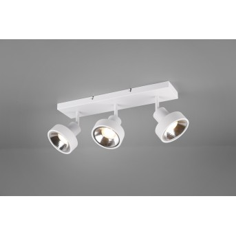 Spot Trio Leon LED Blanc, 3 lumières