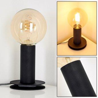 Lampe à poser Kimstad Noir, 1 lumière