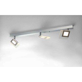 Plafonnier Bopp LINE LED Aluminium, 3 lumières