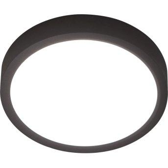 Plafonnier Nino-Leuchten PUCCY LED Noir, 1 lumière
