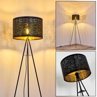 Lampadaire Bathinda Noir, 1 lumière