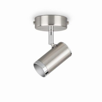 Plafonnier Philips Espimas LED Chrome, 1 lumière