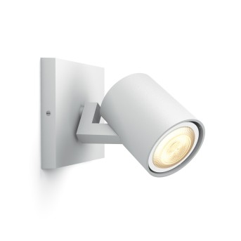 Spot, extension Philips Hue Ambiance White Runner Blanc, 1 lumière