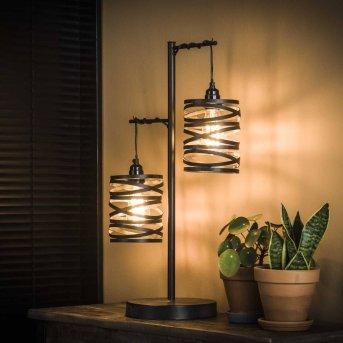 Lampe de table SLUIS Noir, 2 lumières