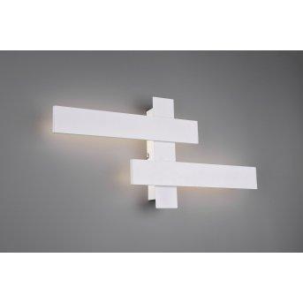 Applique murale Trio Belfast LED Blanc, 2 lumières