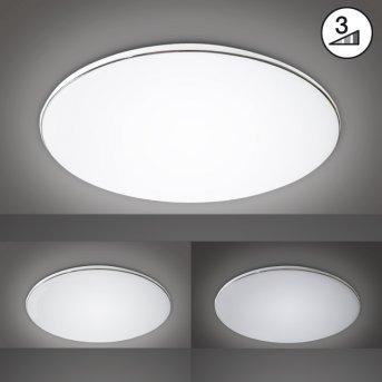 Plafonnier Fischer & Honsel Aldo LED Blanc, 1 lumière