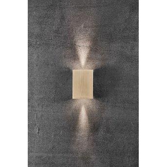 Applique murale d'extérieur Nordlux FOLD LED Laiton, 2 lumières