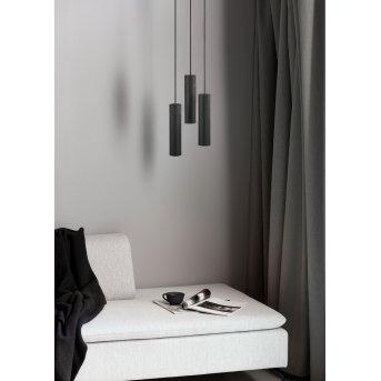Suspension Nordlux TILO Noir, 3 lumières