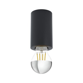 Plafonnier Eglo SALUZZO Noir, 1 lumière