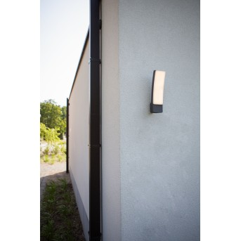 Applique murale d'extérieur Lutec Kira LED Anthracite, 1 lumière