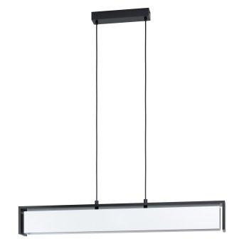 Suspension Eglo VALDELAGRANO LED Noir, 1 lumière, Changeur de couleurs