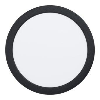 Spot encastrable Eglo FUEVA LED Noir, 1 lumière