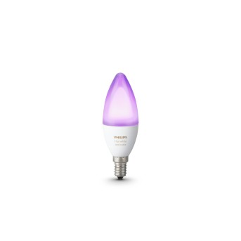 LED Ambiance White & Color E14 6 Watt 6500 Kelvin 470 Lumen Philips Hue