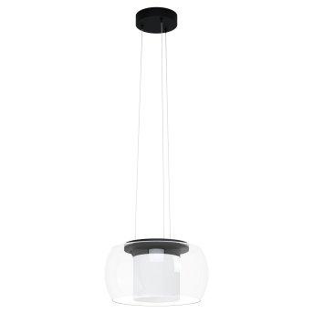Suspension Eglo BRIAGLIA LED Noir, 1 lumière, Changeur de couleurs