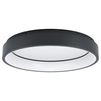 Plafonnier Eglo MARGHERA LED Noir, 1 lumière, Changeur de couleurs