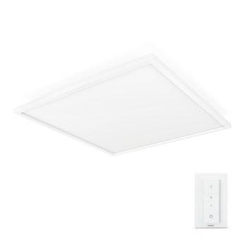 Panneau lumineux Philips Hue Ambiance White Aurelle LED Blanc, 1 lumière, Télécommandes