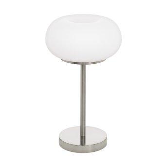 Lampe de table Eglo OPTICA LED Nickel mat, 1 lumière, Changeur de couleurs