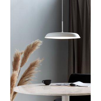 Suspension Nordlux PISO LED Blanc, 1 lumière