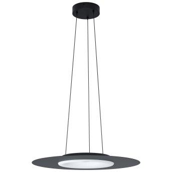 Suspension Eglo COMPO ROSSO LED Noir, 1 lumière, Changeur de couleurs