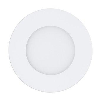 Spot encastrable Eglo FUEVA-A LED Blanc, 1 lumière, Télécommandes