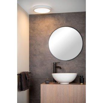 Plafonnier Lucide BRICE LED Blanc, 1 lumière
