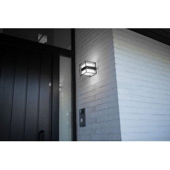 Applique murale d'extérieur Lutec Cruz LED Anthracite, 1 lumière