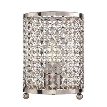 Lampe de table Searchlight Orond Chrome, 1 lumière