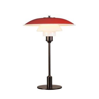 Lampe à poser Louis Poulsen 3½-2½ Rouge, 1 lumière