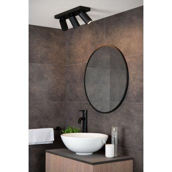 Spot de plafond Lucide TAYLOR LED Noir, 3 lumières