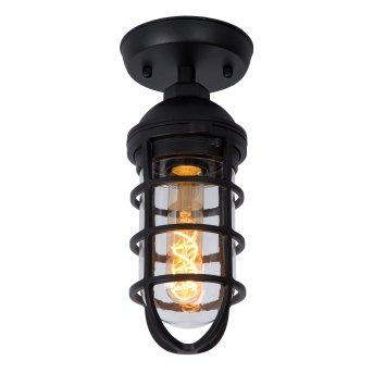 plafonnier extérieur Lucide LIMAL Noir, 1 lumière