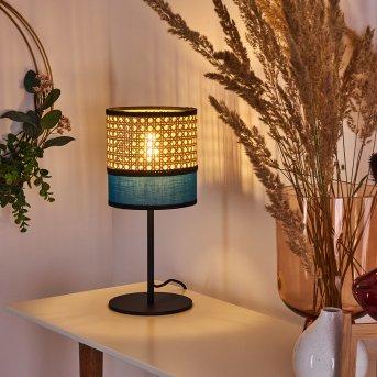 Lampe de table Veenkloster Noir, 1 lumière