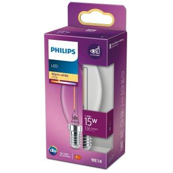 LED E14 15 Watt 2700 Kelvin 136 Lumen Philips