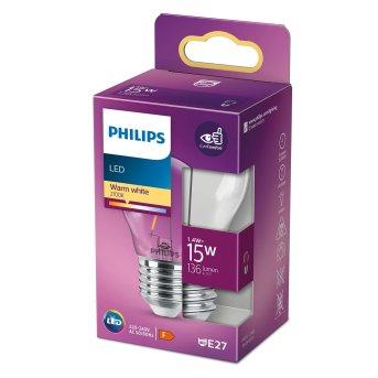 LED E27 15 Watt 2700 Kelvin 136 Lumen Philips