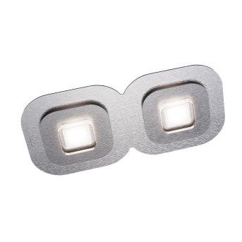 Plafonnier Grossmann AP LED Gris, Aluminium, 2 lumières