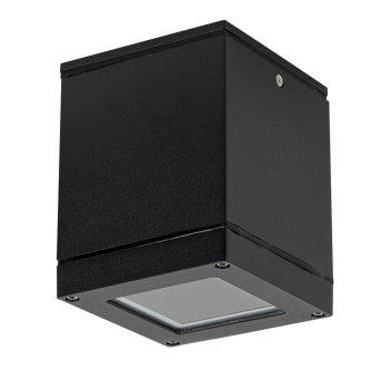plafonnier extérieur KS Verlichting Sigma Noir, Blanc, 1 lumière