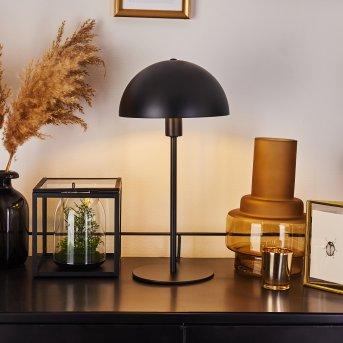 Lampe de table Tom Kings Noir, Blanc, 1 lumière