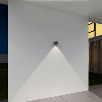 Applique murale d'extérieur KS Verlichting Icon Noir, 1 lumière