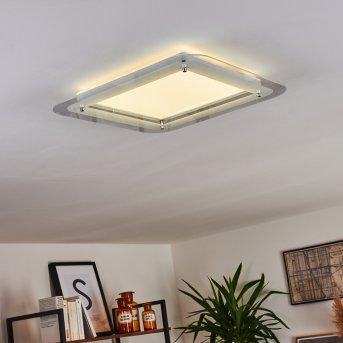 Plafonnier Ipres LED Blanc, 1 lumière