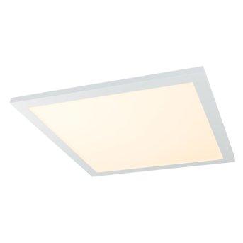 Plafonnier Globo ROSI LED Blanc, 1 lumière, Télécommandes, Changeur de couleurs