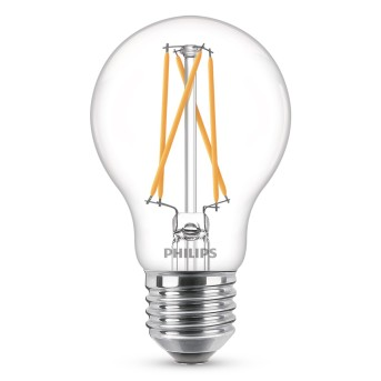 LED E27 60 Watt 2700-2200 Kelvin 806 Lumen Philips