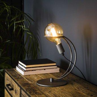 Lampe de table Ostuni Argenté, 1 lumière