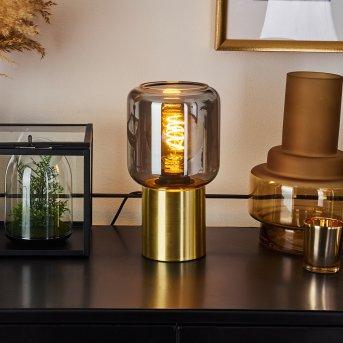 Lampe de table Keppoch Or, 1 lumière