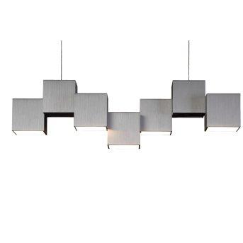 Plafonnier Grossmann ROCKS LED Aluminium, 5 lumières