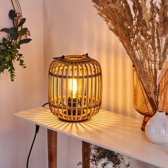 Lampe de table Mongolei Noir, 1 lumière